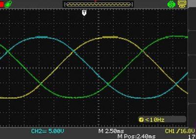 Testiranje magnetov servomotorja