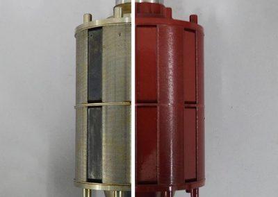 Rotor servomotorja
