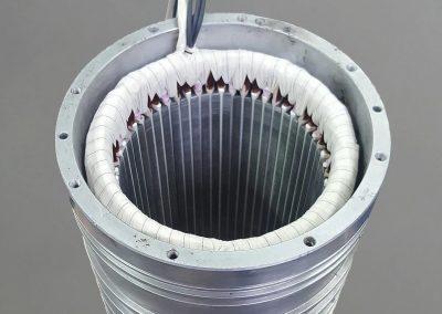 Bandažiran vretenski motor