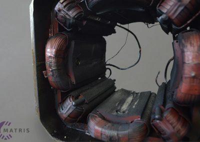 Navitje enosmernega motorja pred servisom